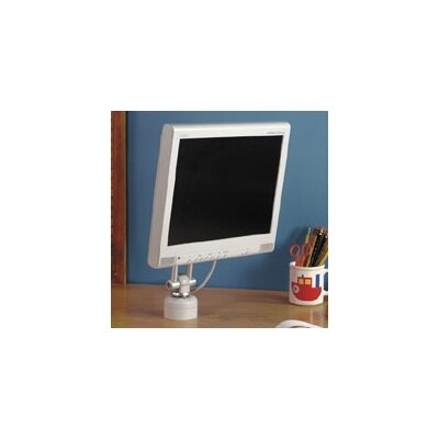 "Peerless Vertical Desktop Mount with 1"" Stationary Base for LCD Screens (Up to 30"" Screens)"