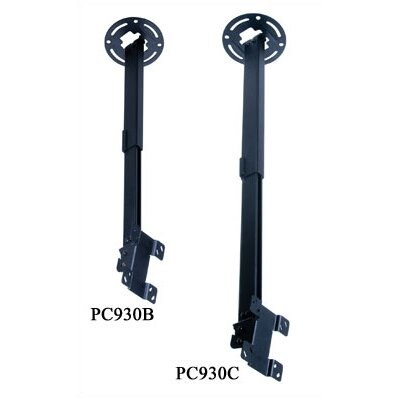 "Peerless Paramount Universal Ceiling Mount with Adjustable Extension (15"" to 24"" Screens)"