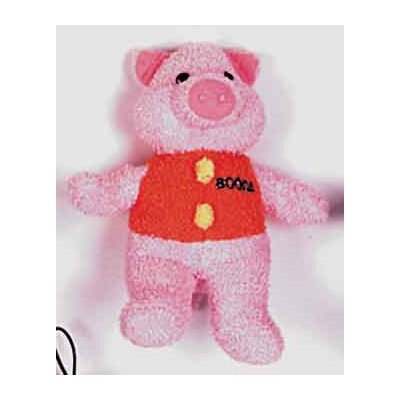 BOODA Pet Products Terry Pig Dog Toy
