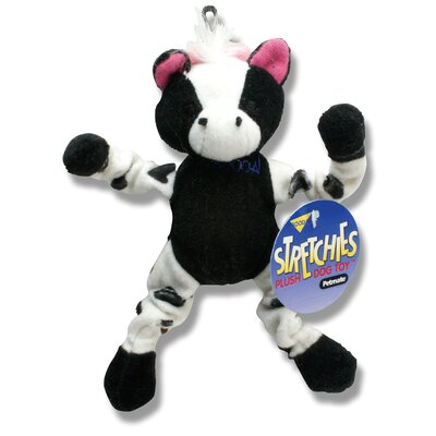 BOODA Pet Products Cow Stretchies Dog Toy