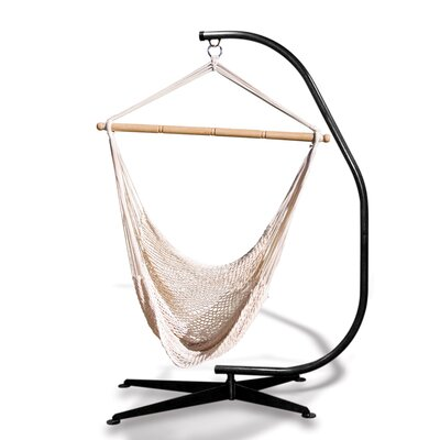 Hammaka Suelo Stand and Rope Hammock Chair Combo