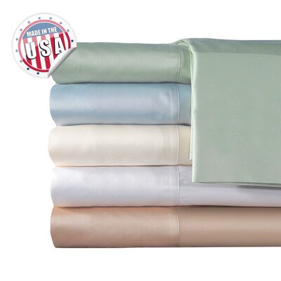 Veratex Supreme Sateen 300 Thread Count Solid Sheet Set