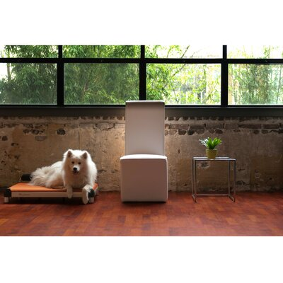 DoggySnooze SnoozeSleeper Dog Bed with Long Legs and a Black Anodized Frame