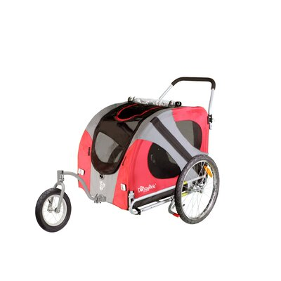 Original Dog Jogger-Stroller in Urban Red