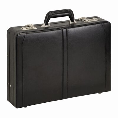 Classic Leather Laptop Attache Case
