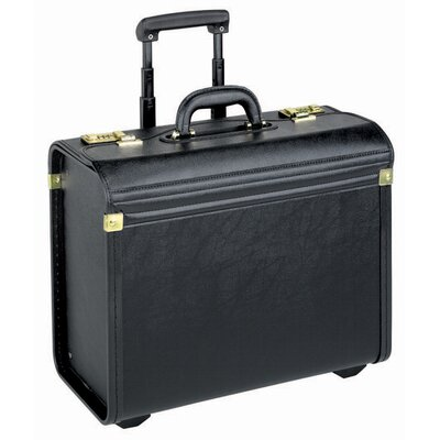 SOLO CASES Leather-Look Rolling Catalog Case