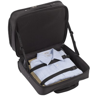 SOLO CASES Sterling CheckFast™ Rolling Laptop Overnighter in Black