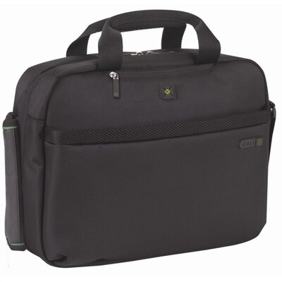 SOLO CASES Tech Check Fast ™  Laptop Clamshell in Black