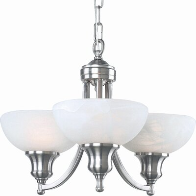 Royce Lighting Fairlawn 3 Light Mini Chandelier