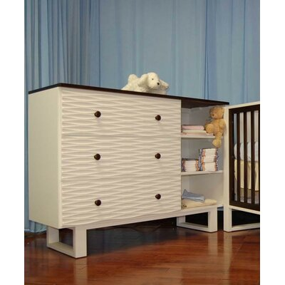 Eden Baby Furniture Moderno 3-Drawer Dresser