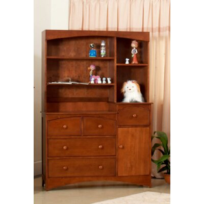 Eden Baby Furniture Seattle 3 Drawer Combo and Hutch Set