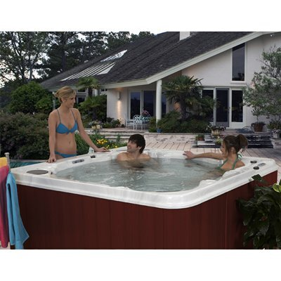 QCA Spas 5-Person 30-Jet Antigua Lounger Spa