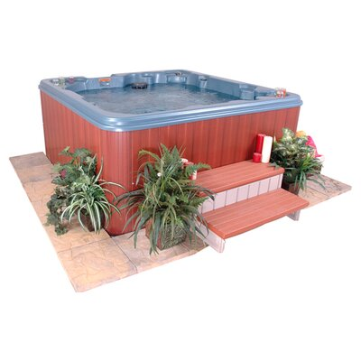 QCA Spas Martinique 7 Person 40 Jet Non-Lounger Spa