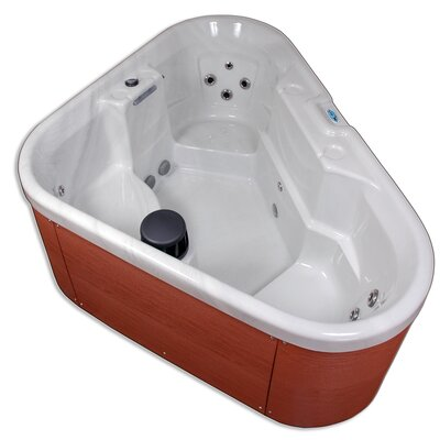 QCA Spas Bermuda 3 Person 12 Jet Corner Spa