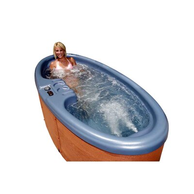 QCA Spas Duet 2 Person Oval 10 Jet Spa