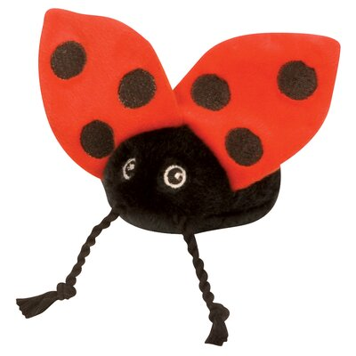 Go Dog Mini Ladybug Dog Toy