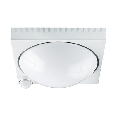 Steinel DL750 Impact Resistant Ceiling PIR Porch Light in White