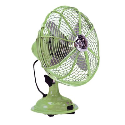 Pistachio Desk Fan