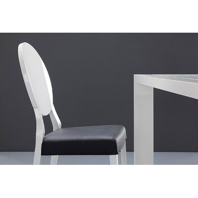 Domitalia Cameo Leather Side Chair