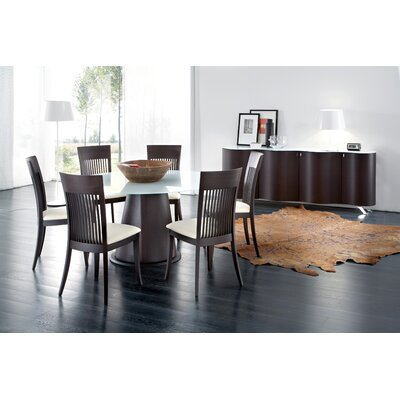Domitalia Palio-152 Round Table with Optional Palio Sideboard