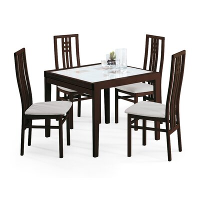 Poker-120 Dining Table with Scala Chairs