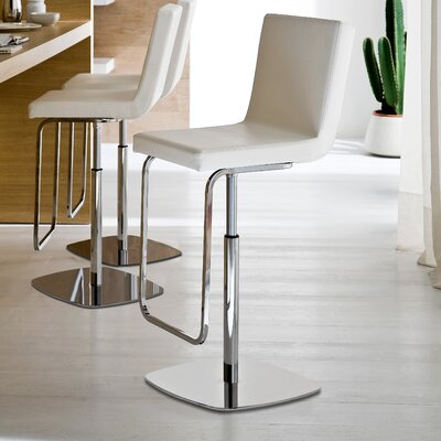 Domitalia Afro Adjustable Swivel Bar Stool