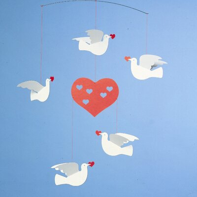 Flensted Mobiles Peace and Love Mobile