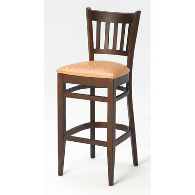 "Grand Rapids Chair Melissa Wood Barstool (24"" - 31.5"" Seats)"