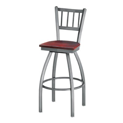 "Grand Rapids Chair Melissa Anne Swivel Barstool (24"" - 36"" Seats)"