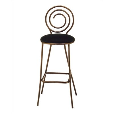 "Grand Rapids Chair Spiral Barstool (24"" - 29.5"")"