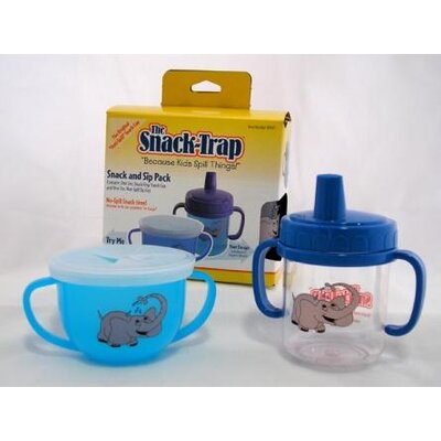 Mossworld Enterprises, INC. Snack Trap Snack and Sip Cup Pack