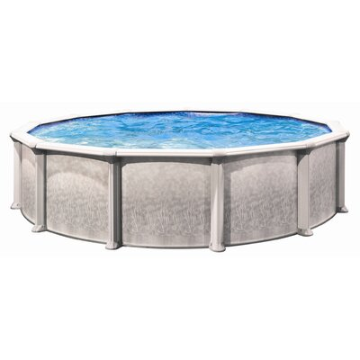 "Trevi Aqua Deluxe 52"" Depth Round Above Ground Pool"