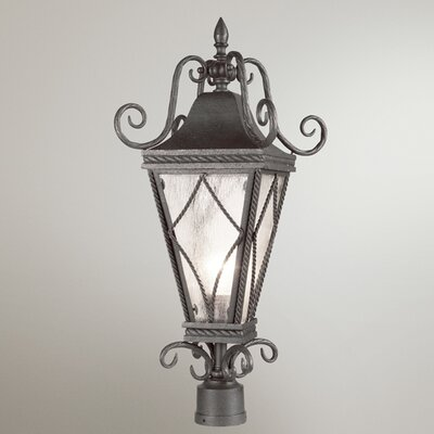 Eurofase Mavis 1 Light Outdoor Post Lantern