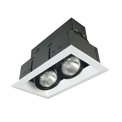 Eurofase Two Light Multiple Recessed Trim in White