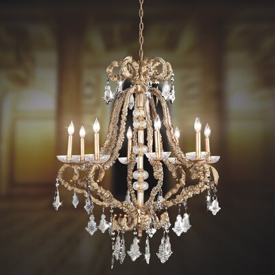 Eurofase Baliza 8 Light Chandelier