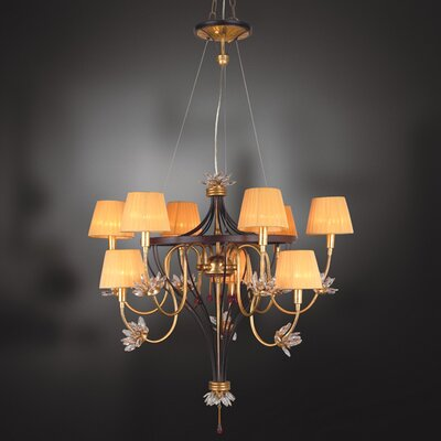 Eurofase Festina 9 Light Chandelier