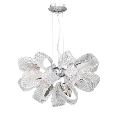 Eurofase Origami 11 Light Chandelier