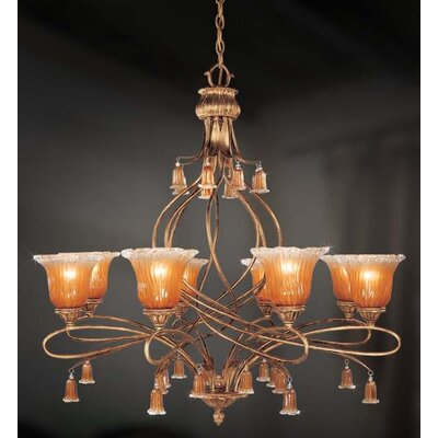 Eurofase Sorrento 8 Light Chandelier
