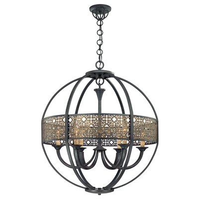 Arsenal 6 Light Chandelier