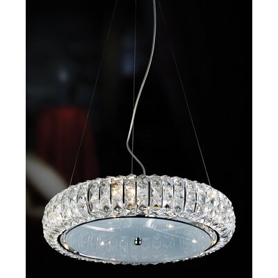 Eurofase Anapolis 10 Light Drum Pendant
