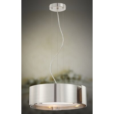 Eurofase Dervish 3 Light Drum Pendant