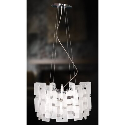 Eurofase Numero 8 Light Drum Pendant