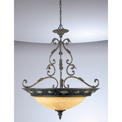 Eurofase Elderon 3 Light Inverted Pendant