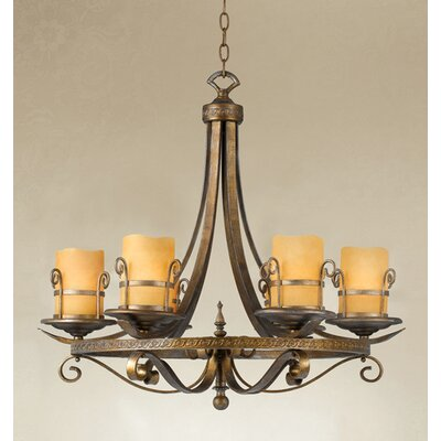 Eurofase Rustico 6 Light Chandelier