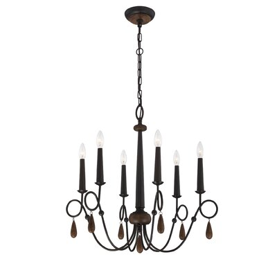 Eurofase Corso 6 Light Chandelier
