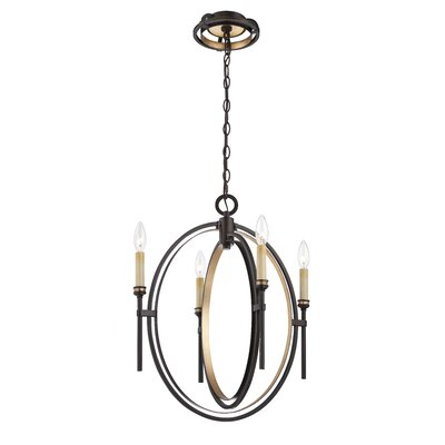 Eurofase Infinity 4 Light Chandelier