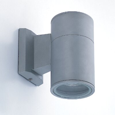 Eurofase 1 Light Outdoor Cylindrical Wall Sconce