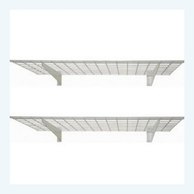 Wall Shelf in White (Set of 2)