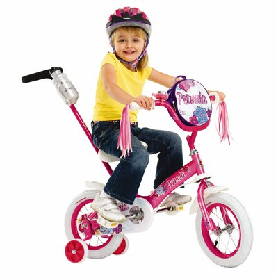 "Schwinn Girls 12"" Juvenile Petunia Bike with Training Wheels"