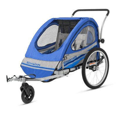 Trailblazer Double Jogging Stroller Bike Trailer